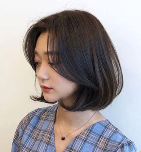 Xinh đẹp trẻ trung với kiểu tóc bob mái dài uốn cúp
