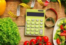 đếm lượng calo trong thức ăn