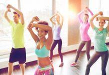 bài tập aerobic giảm cân