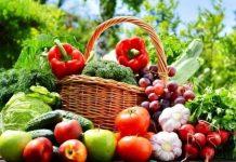 rau quả màu tím