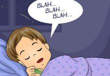 nói mớ khi ngủ là bệnh gì