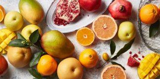 bảng tính calo trong trái cây